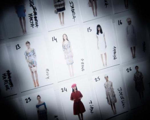 LFW SS2013: Vivienne Westwood Red Label Backstage