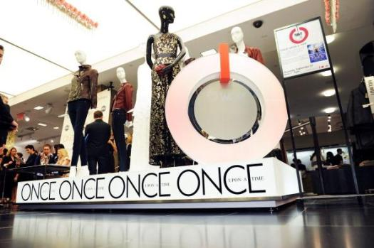 Clothing display at Bloomingdale's 59th Street store to welcome Jennifer Morrison Star Of ABC's 'Once Upon a Time'. Bloomingdale's 59th Street in New York City. Photo by Craig Barritt/Getty Images for Bloomingdale's