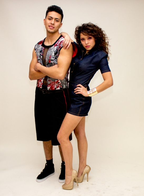 Models: Cristian Gonzalez and Destinee Albarran
