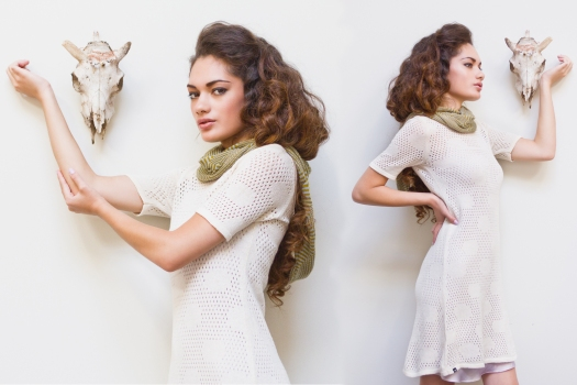 Myrrhia Fine Knitwear, Spring/Summer 2014.  Photo Credit: Jenny Villarete, used with permission.