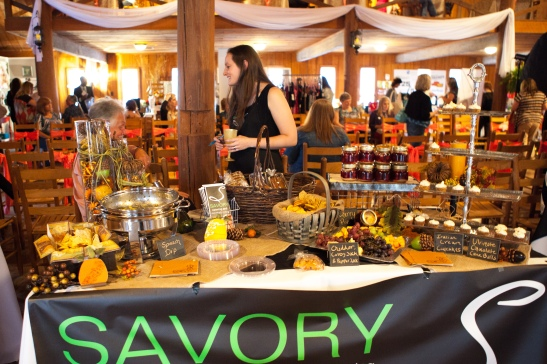 Image of Bridal Savoir Faire 2013.  Savory Catering.